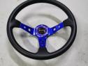 Volan MOMO albastru sport Racing drift