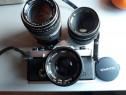 Olympus OM2 + Zuiko 50mm F1,8 + 50MM 1.4 / 50 MM 3.5 obiecti