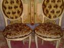 Scaun/set 2 scaune baroc venetian/rococo/Ludovic/shabby/vint