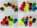 Lichidare stoc pahare plastic suport pixuri creioane pensule