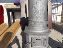 Sobă antică din fontă