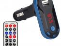 Modulator FM cu Bluetooth de pe telefon mp3 în masina cu tel
