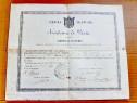 C434-I-Diploma Farmacie Empire France 1857 Certificat Examen