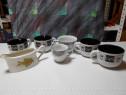 Boluri / Cani pentru supa/ ciorba + sosiera + cana cafea