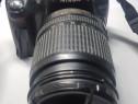 Nikon D5000 cu 2 obiective