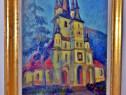 Pictura veche biserica Sfantul Nicolae din Brasov