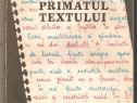 Primatul Textului - Ioan Dersidan