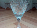 Set 2 pahare cristlal Bohemia pt vin si coniac