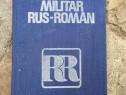 Dicționar Militar Rus Român
