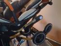 Carucior sport bidirectional pentru copii, portabil si usor