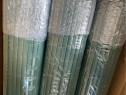 Gard opac , neu. holz, protectie vizuala. 100/300 cm, verde