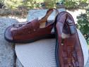 Sandale piele, Gemini, mar 42 (27 cm)