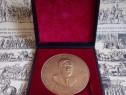 Plachetă/medalie aniversară/omagială GEORGE BACOVIA