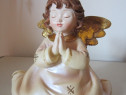 Decoratiune/figurina ingeras, vintage-made in Germany-cadou