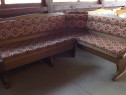 Coltar bucatarie masiv rustic mobila