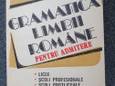 Gramatica limbii romane pentru admitere - macarie