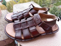 Sandale piele Clarks, mar 41, (26 cm) made in India.