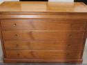 Comoda vintage lemn masiv; Dulap cu sertare; Bufet