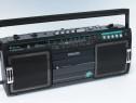 Portabil Philips radiocasetofon.