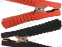 Cleme crocodil 500A, 140x100mm, set rosu, negru - 122750