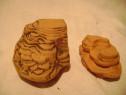 Decor acvariu ceramica 2 bucati