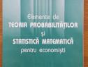 Elemente de teoria probabilităților și statistică matematică