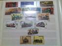 4 Clasoare cu timbre filaterice vechi, romanesti & straine