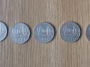 Lot 5 monede 3 lei 1966