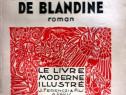 Les egarements de Blandine de Francis de Miomandre (1936)