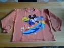 Snowboard Mickey Mouse - bluza copii 6 ani