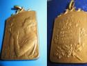 Medalie sportiva veche franceza- Crosul Soarelui 1936