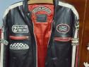 Geaca de piele pentru motociclisti!!