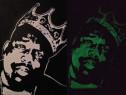 Executam Portrete Fosforescente-Glow in The Dark