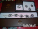 Set argint - colier, cercei, bratara, inel