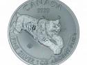 Monedă de Argint Canadian Predator Series – Lynx 2017 1oz