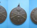 Medalia Armee Belge Councours de Tir, bronz, anii 1900.