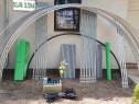 Solar metalic pentru legume si flori 16 m lungime /4 m desch