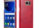 Husa piele Xoomz Samsung Galaxy S7 Edge, fara clapeta, rosu