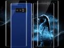 Samsung Note 8 - Folie Clara Curbata Din Silicon Fata Spate