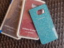 Glitter Husa spate ORIGINALA Samsung S6 Edge Plus,Noua