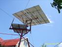 Tracker solar,panouri fotovoltaice,dispozitiv orientare