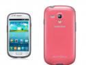 Husa Silicon Samsung Galaxy S3 mini Pink PRODUS NOU