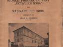 """Monografia şcoalei primare """"OctavianGoga"""" din Răşinari 1936"""
