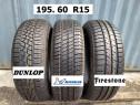 Cauciucuri Michelin Dunlop 195 60 R15 Profil NOU Rezerve