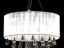 Lampă de tavan cu 85 cristale albe (60345)