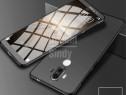 Huawei Mate 10 Lite - Husa 360 Plastic Fata + Spate + Folie