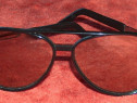 Ochelari soare vintage, anii '70 + toc piele