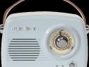 Radio portabil Nostalgia cu bluetooth si FM