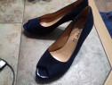 Pantofi dama, piele sintetica, marimea 37, noi