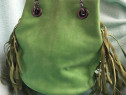 Geanta femei verde
